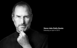 Steve Jobs Daily Quotes Coming Soon