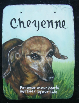 Dog Memorial Quotes A pet memorial to put in