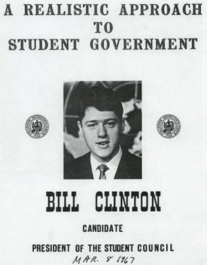 ... poster for president of his school's student council. ( i.imgur.com