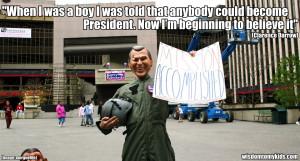 George Bush Funny Quotes