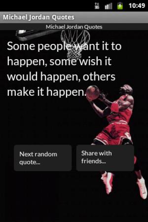 Michael Jordan Quotes - screenshot