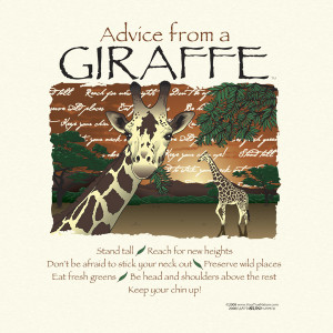 giraffe sayings