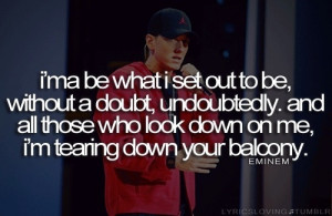 Not afraid- Eminem
