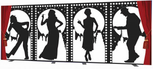 Roaring 20s Silhouettes