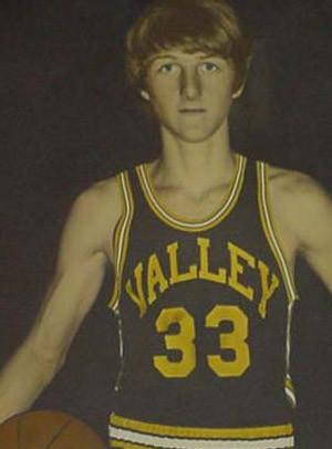 simplybasketball:Larry Bird in High School