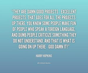 Damn Good Quotes