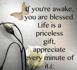 Always be thankful!