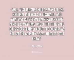 Paul Keating
