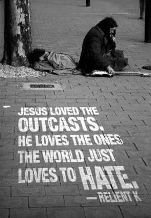 "... The Ones The World Just Loves To hate "" - Relient K ~ Religion Quote"