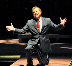 "Mike Burstyn Is ""Al Jolson"" in Jolson at the Winter Garden"