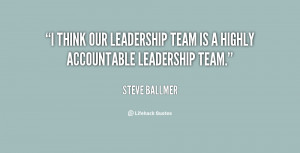 Quotes About Leading A Team