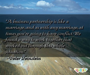 Quotes About Partnership Business