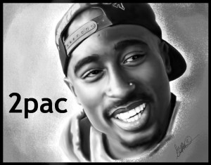 2pac by gqthedog