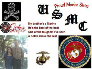 my brother a marine Image
