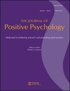 ... that the 9th Volume of the Journal of Positive Psychology consists of