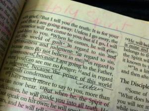 Short Bible Quotes The Holy Spirit John Verse