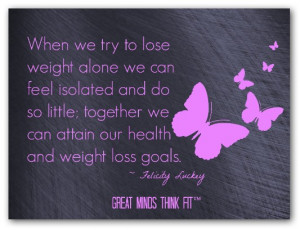 Friend Support Quotes Lose weight together quote
