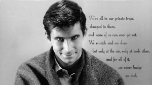 Norman bates quote from Psycho. [1366x768] ( i.imgur.com )