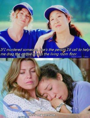 Grey's Anatomy Meredith and Cristina