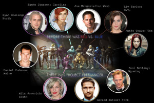 RvB Freelancer Movie Cast by DancingSmily