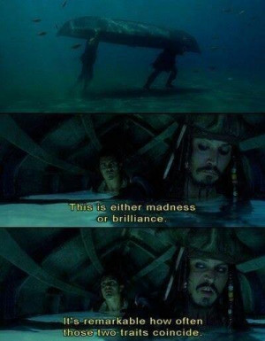 Pirates of the Caribbean.