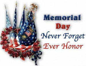 Happy Memorial Day 2013 latest SMS, quotes, poems, wishes