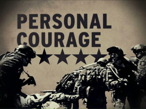 Army Values - Personal Courage