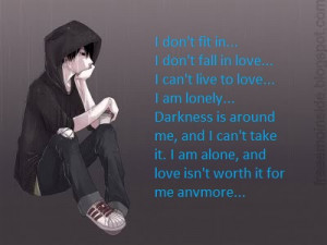 quotes view original image sad anime quotes sad anime sayings view ...