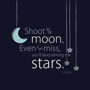 inspirational quotes, inspiring, moon, night, stars, teen life quotes