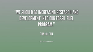 Quotes About Fossil Fuels