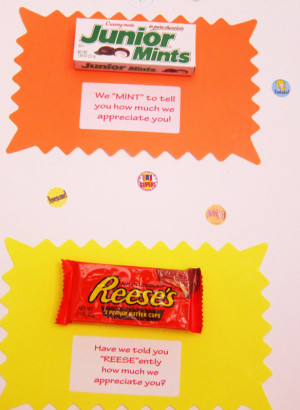 Reeses Pieces Candy Saying