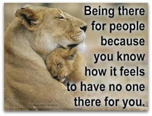 Being There For People
