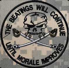 OML Patches - The beatings will continue until morale improves patch ...