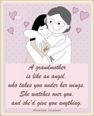 -grandmother-nana-quotes-illustrations-a-grandmother-is-like-an-angel ...