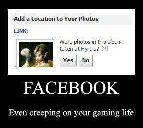 facebook creeping