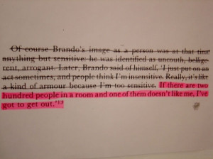 book, pink, quote, social anxiety, sonja ahlers, text