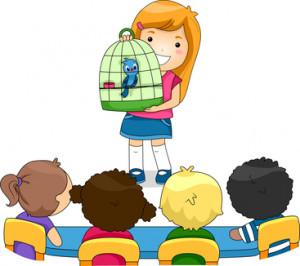 preschool show and tell clip art