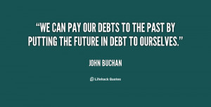 Quotes About Paying Your Debts