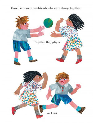 Iconic Illustrator Eric Carle's Vibrant Ode to Friendship by Maria ...