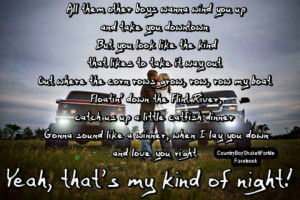 luke bryan - thats my kinda night