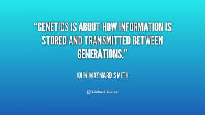 Quotes About Genetics