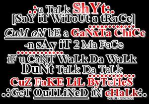 Cute Ghetto Quotes Pic #20
