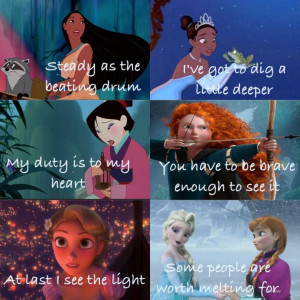 disney princess quotes about love from the movies disney princess ...
