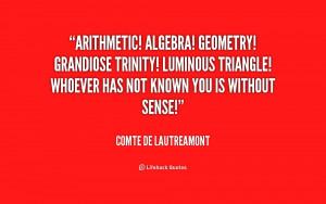 triangle quote