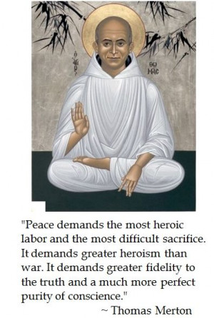Thomas Merton on peace