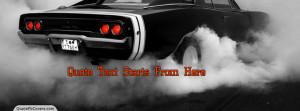 Autos Custom Quote fb CoverDodge Drifting