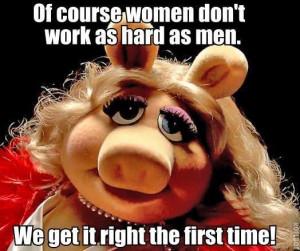 Ahhhh.... Miss Piggy. :)