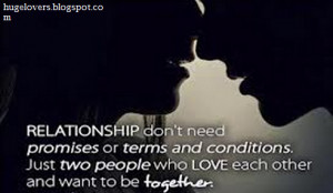 relationship don t need promises motivational relationships quotes ...