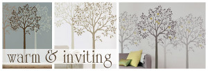 Tree and Branch Stencils