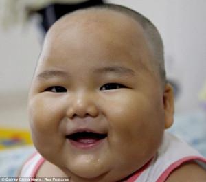 Chubby Chinese Baby (4 pics)